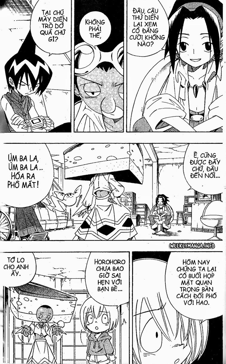 Shaman King [Vua pháp thuật] chap 186 trang 6
