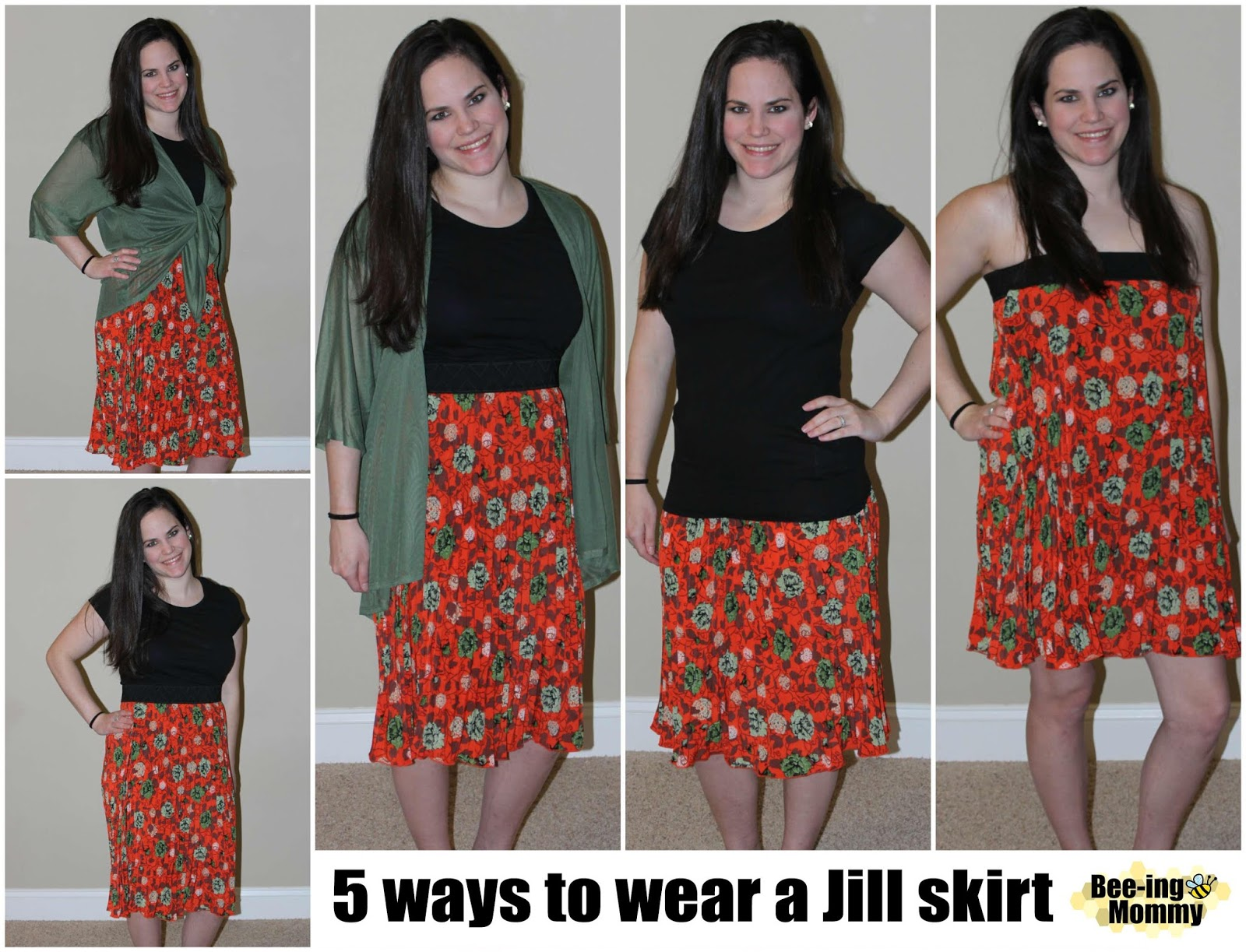 89fb67f7e LulaRoe Jill Pleated skirt, Jill Pleated skirt, LulaRoe Jill and Lindsay, 5  ways