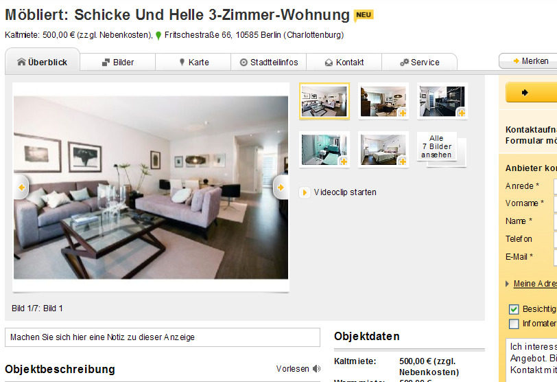 wohnungsbetrugblogspotcom Mbliert Schicke Und Helle 3