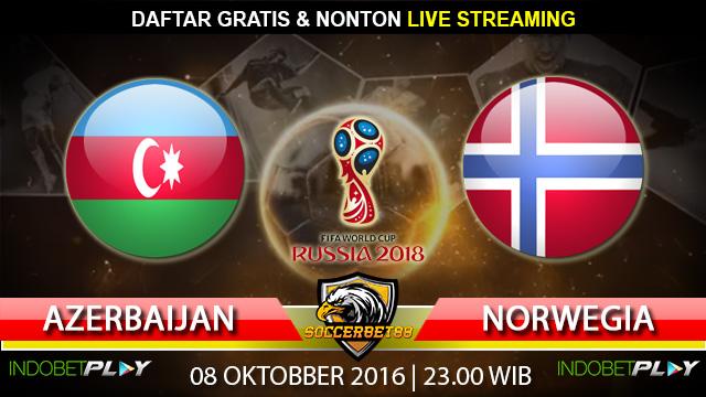 Prediksi Azerbaijan vs Norwegia 08 Oktober 2016 (Piala Dunia 2018)