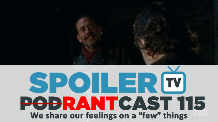 STV Podcast 115 - A rant about The Walking Dead Finale