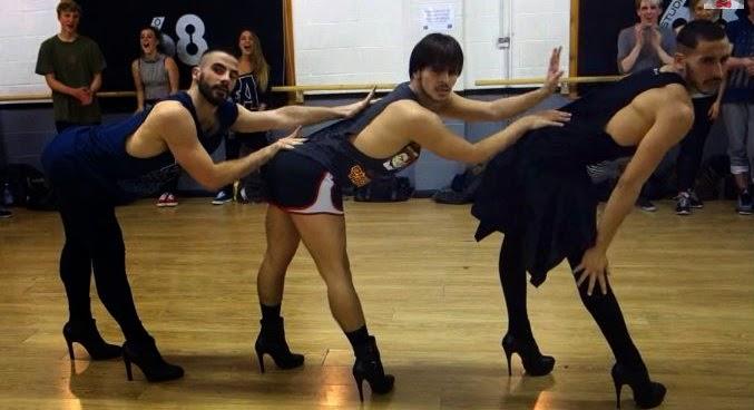 Boys In High Heels Dances To Beyonce Medley