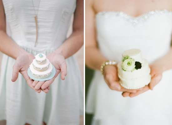 Wedding cake alternative ideas, mini wedding cakes