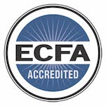 Accredited by: Evangelical Council for Financial Accountability, from USA.