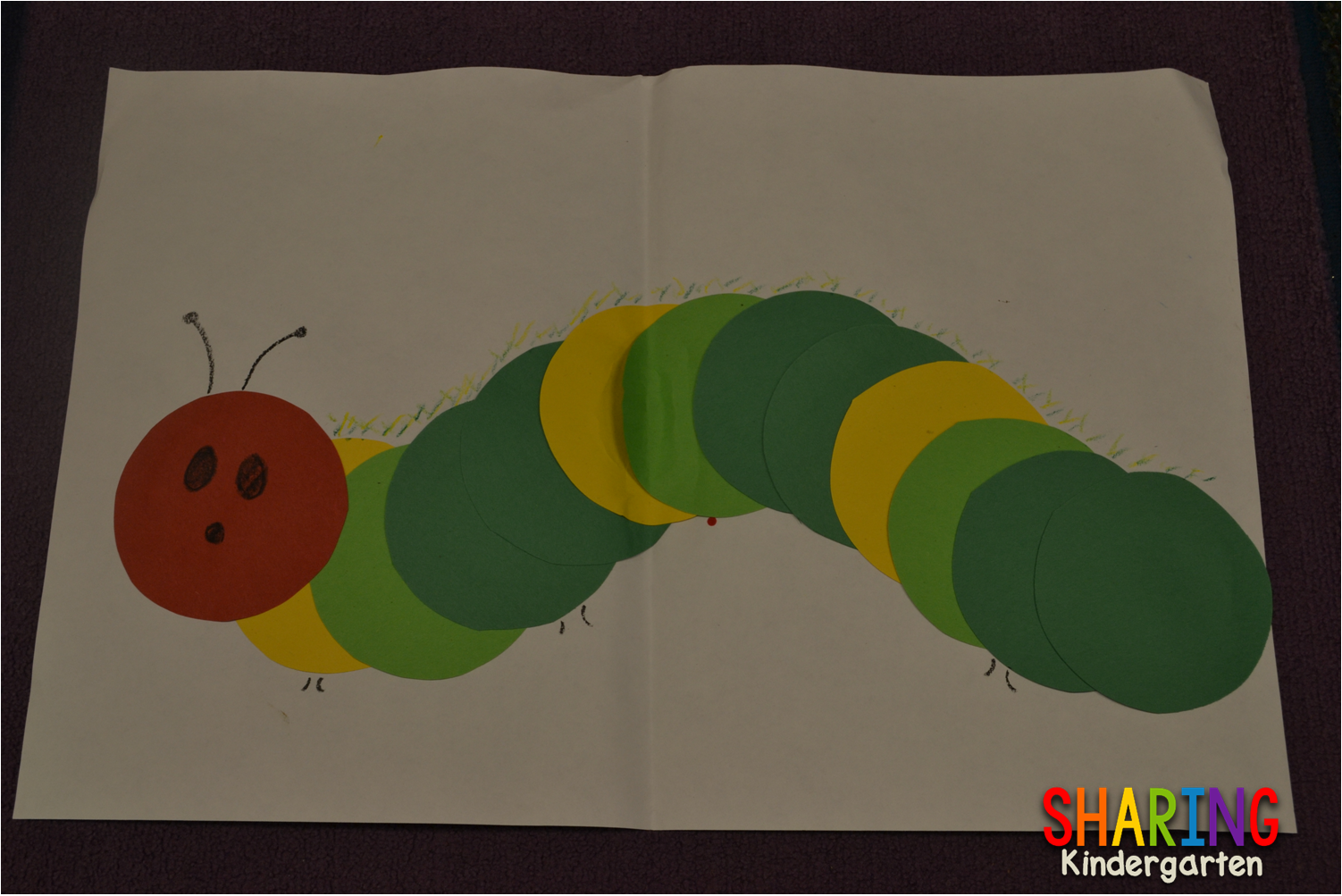 The Very Hungry Caterpillar Done