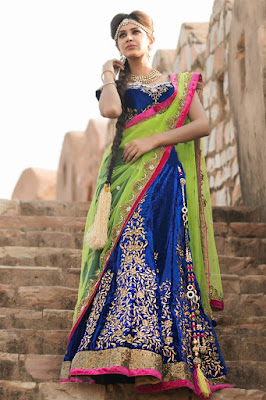 Indian-bridal-lehenga-choli-2017-embroidered-designs-for-brides-2