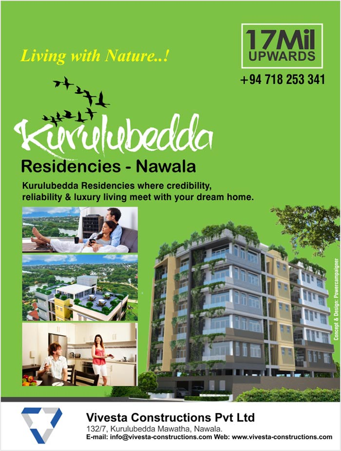 Kurulubedda Residencies where credibility,  reliability & luxury living meet with your dream home.