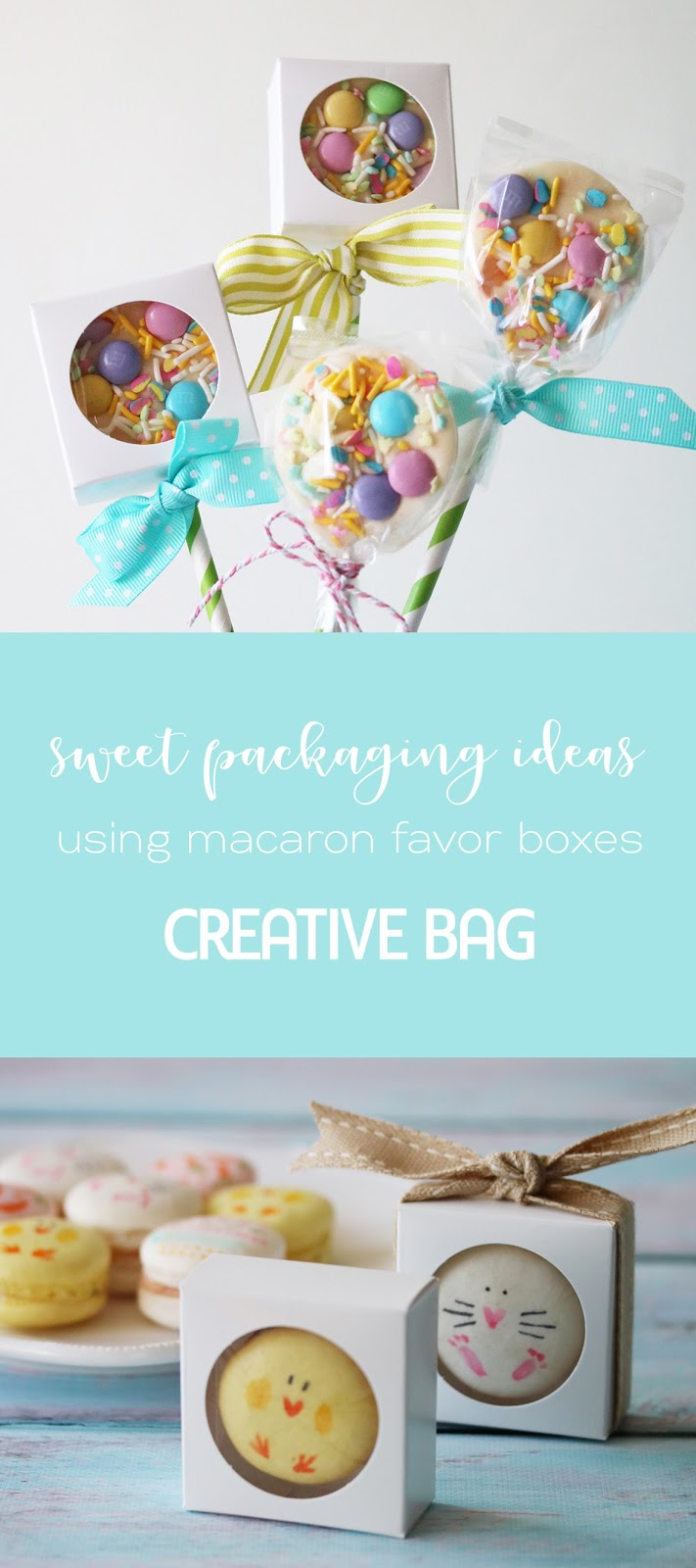 sweet packaging ideas using macaron boxes | Creative Bag