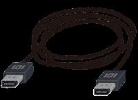 DisplayPort端子の付いたケーブルのイラスト