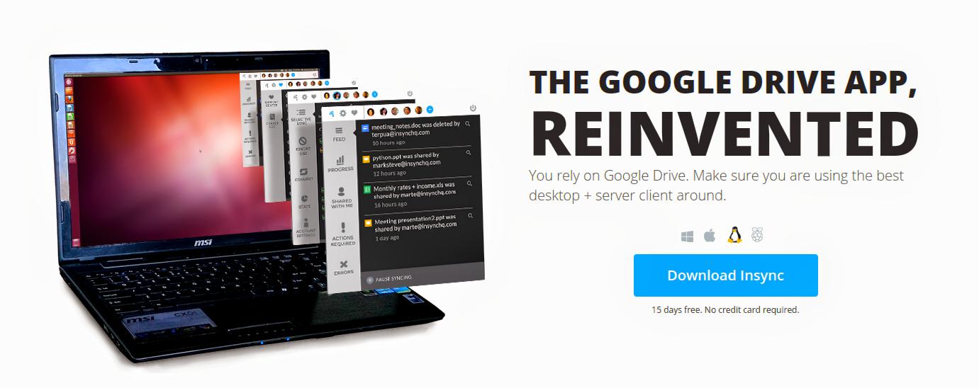 Insync - Um cliente Google Drive para Linux - Diolinux - O