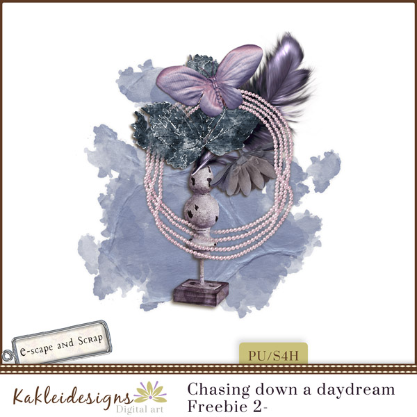 FREEbie #2 - Chasing Down a DayDream from Kakleidesigns