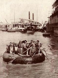 A quffa in Baghdad in 1914