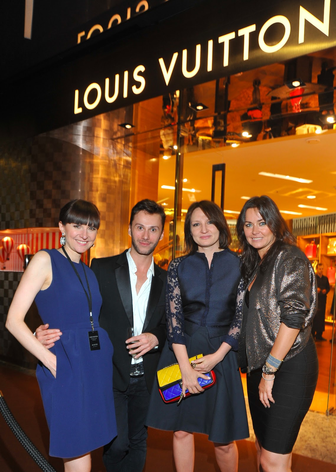 cbf6c4715d8b0 Oh la class comes to Warsaw! The opening of Louis Vuitton. | magda ...