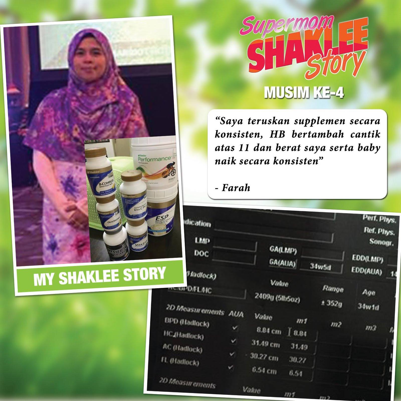 hamil sihat dengan shaklee