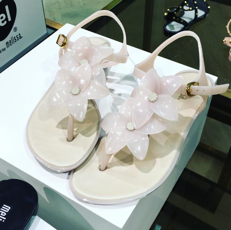 Melissa Garden Thong Sandals