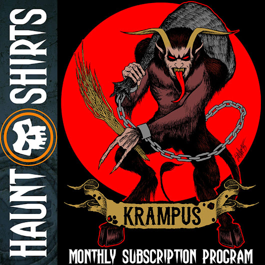 Final Krampus Haunt Shirts T-Shirt Design Revealed, Ordering Goes Live