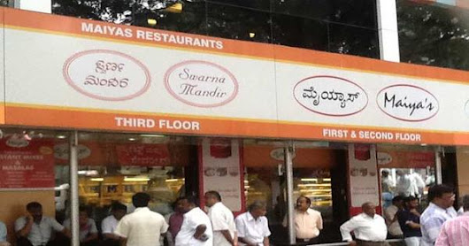 Some of the Best Breakfast Joints in Bangalore That You Must Know