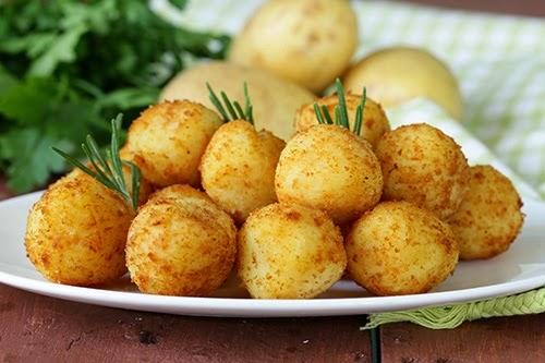 Receta de bolitas de patata