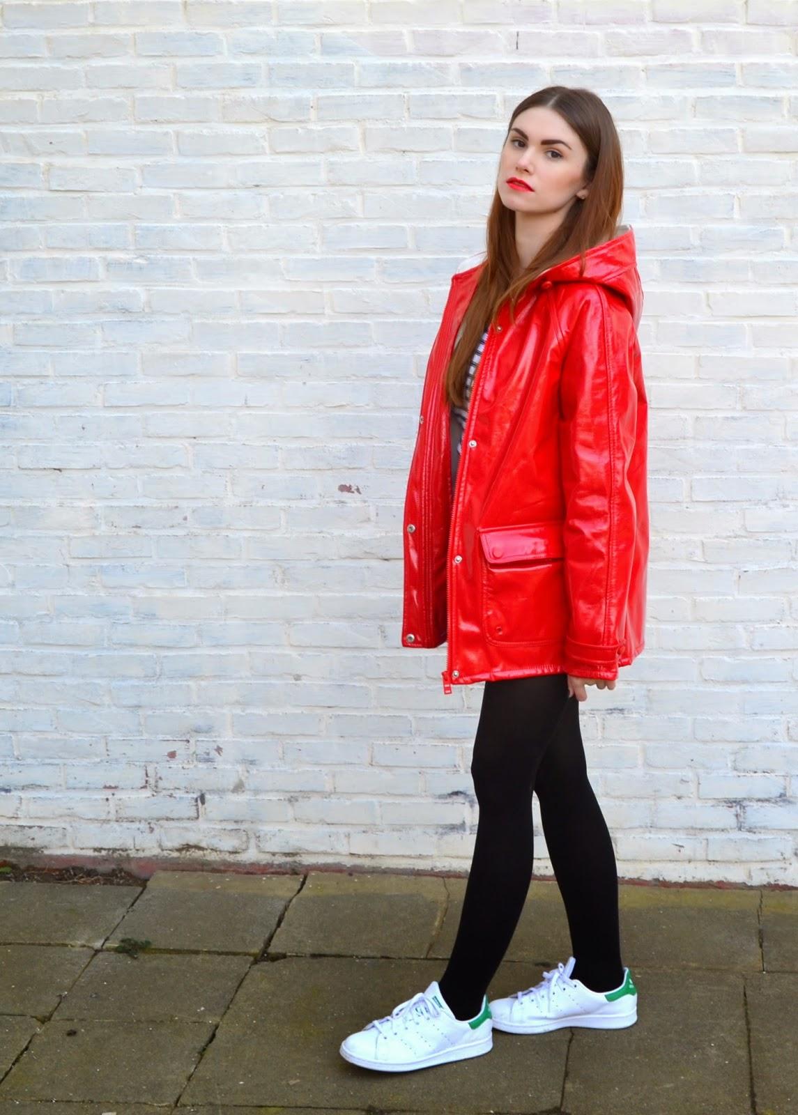 buying now classic pretty cool zosiarome: Red Rain Mac