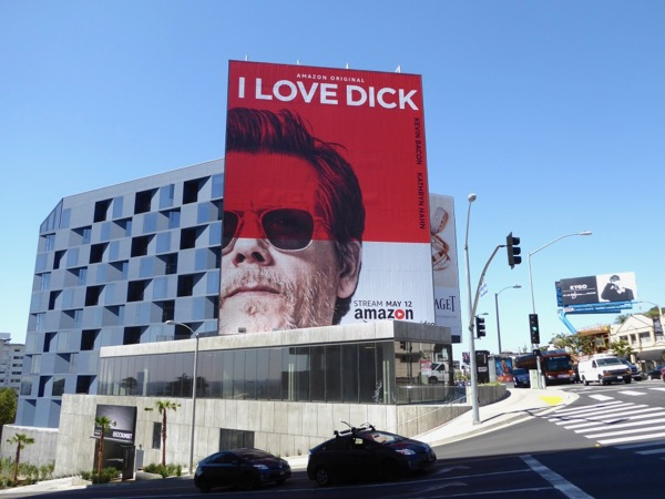 I Love Dick Amazon series billboard