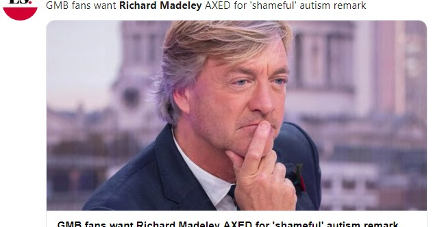 Richard Madeley Stuns Outraged Good Morning Britain Viewers Over