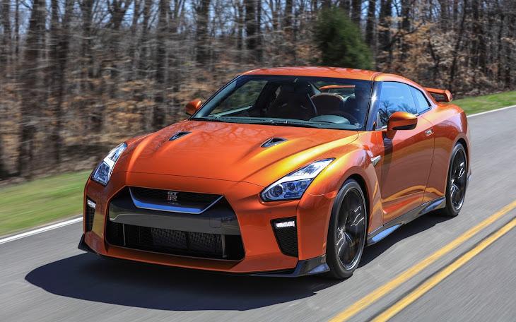 2017 Orange Nissan GTR