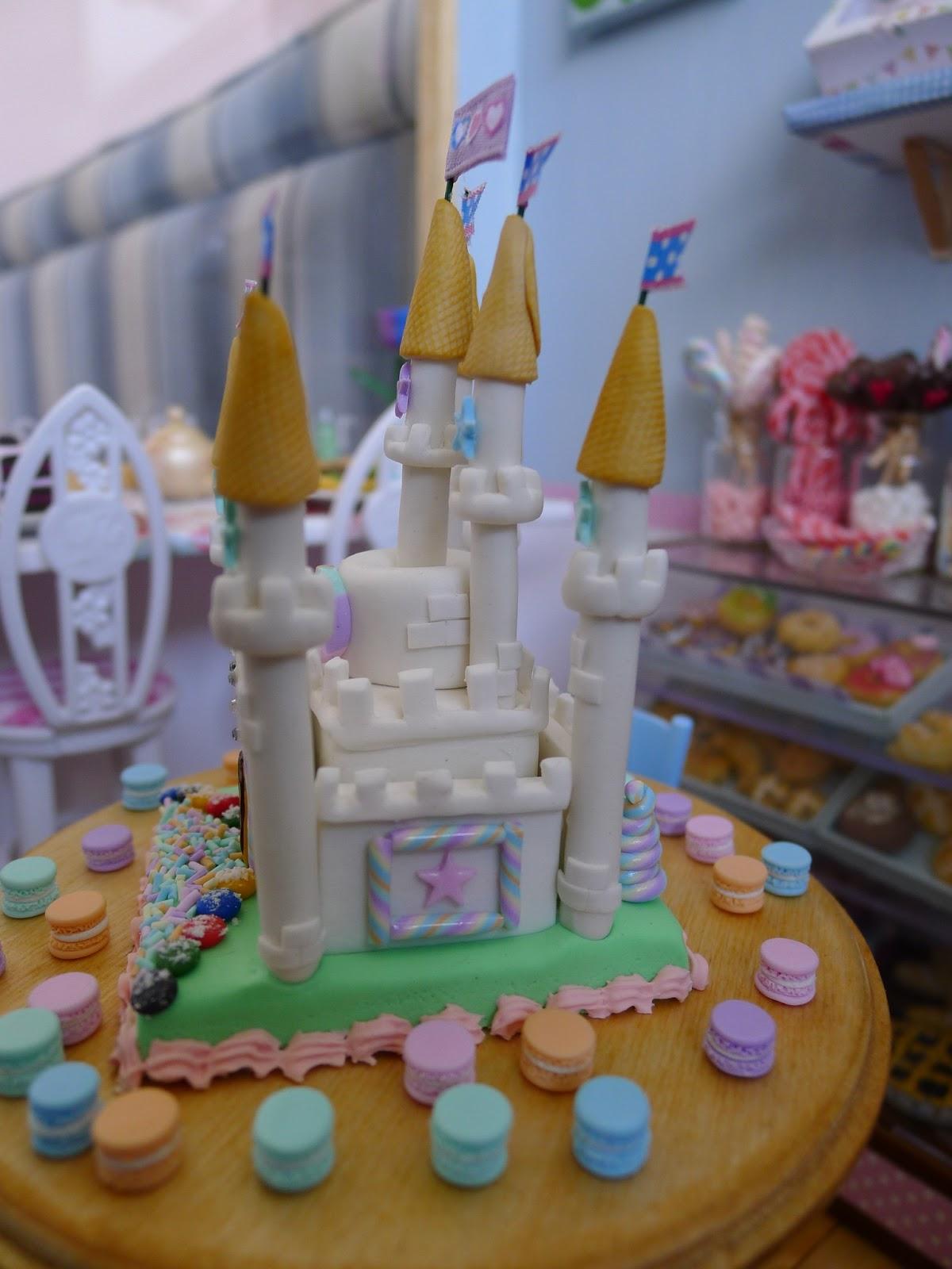 Littlest Sweet Shop New In White Marshmallow Castle Cake
