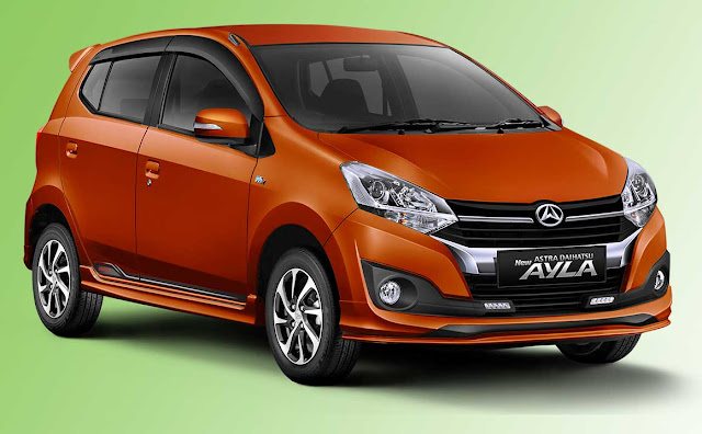 Spesifikasi dan Harga New Astra Daihatsu Ayla Type R