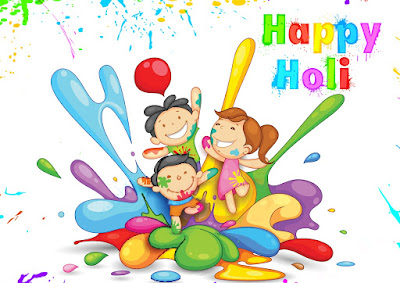 Funny happy holi images for whatsapp