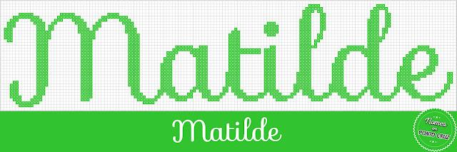 Nome Matilde em Ponto Cruz