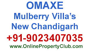Omaxe 250sq.yrd Mulberry Villas in New Chandigarh