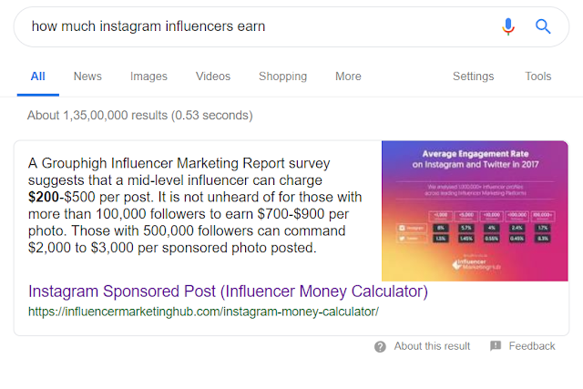 Google featured snippet 9