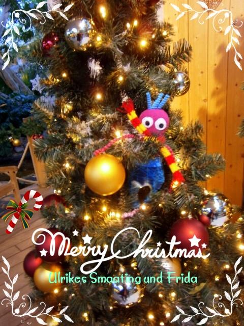 Frohe Weihnachten Euch Allen.Ulrikes Smaating Frida On Tour Frohe Weihnachten Euch Allen