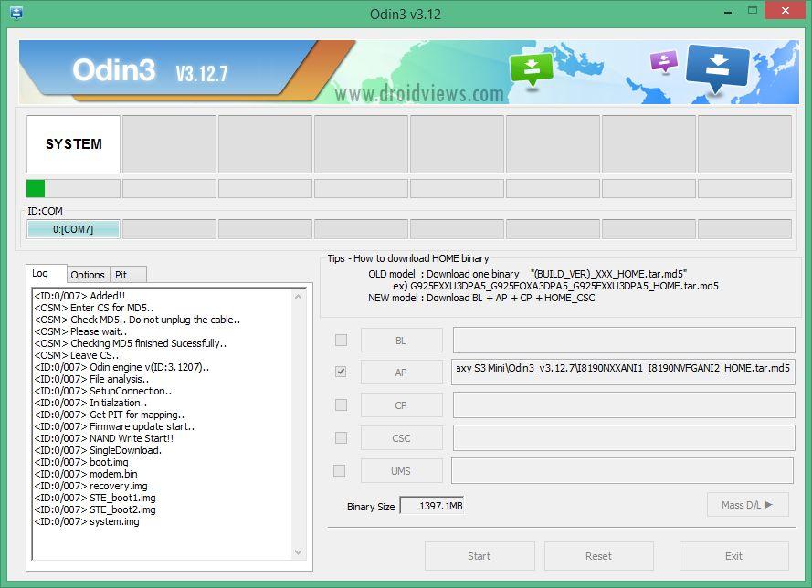 instalar firmware con odin huawei g630