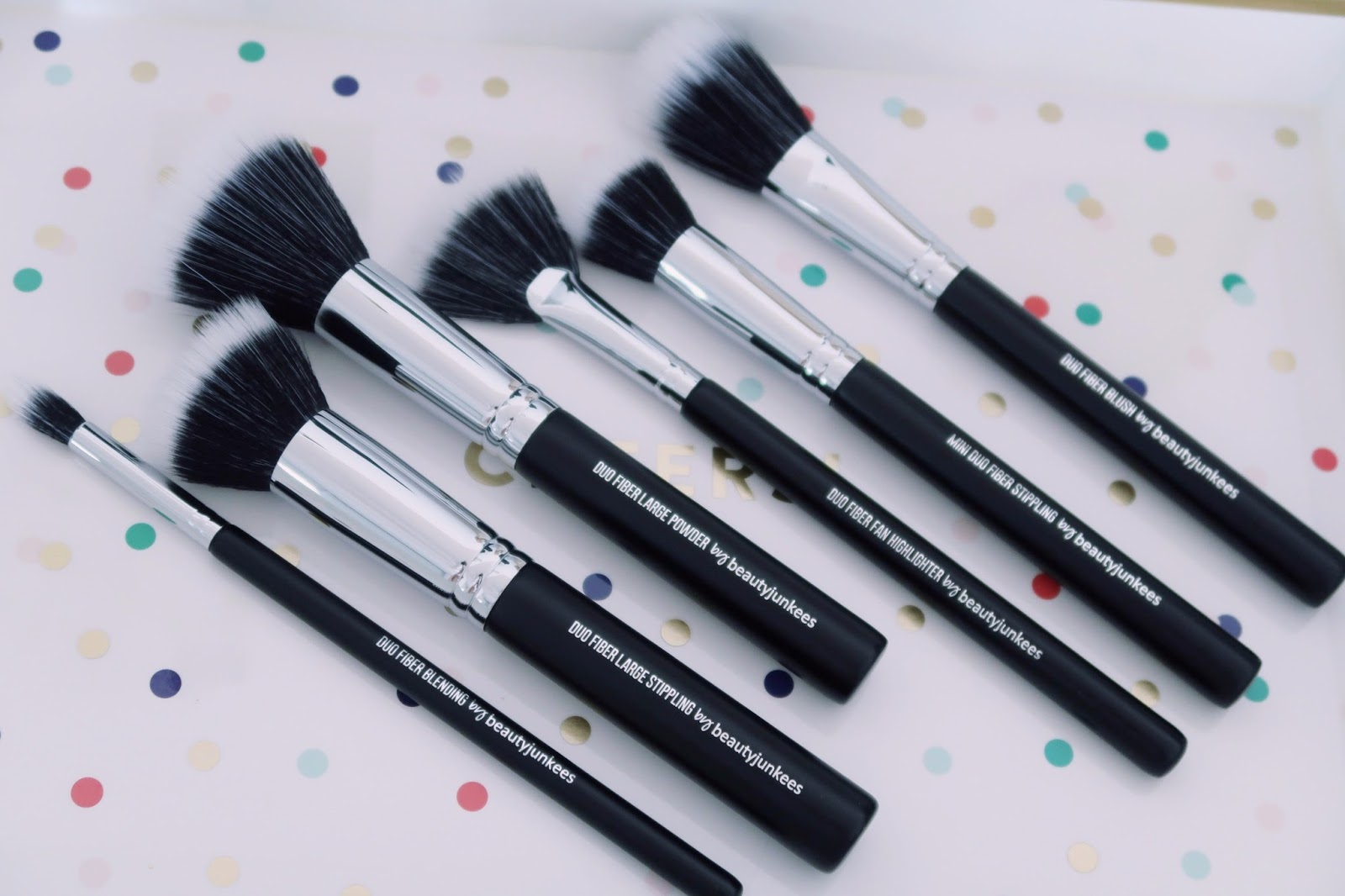 Beauty Junkees 6 Piece Duo Fiber Brush