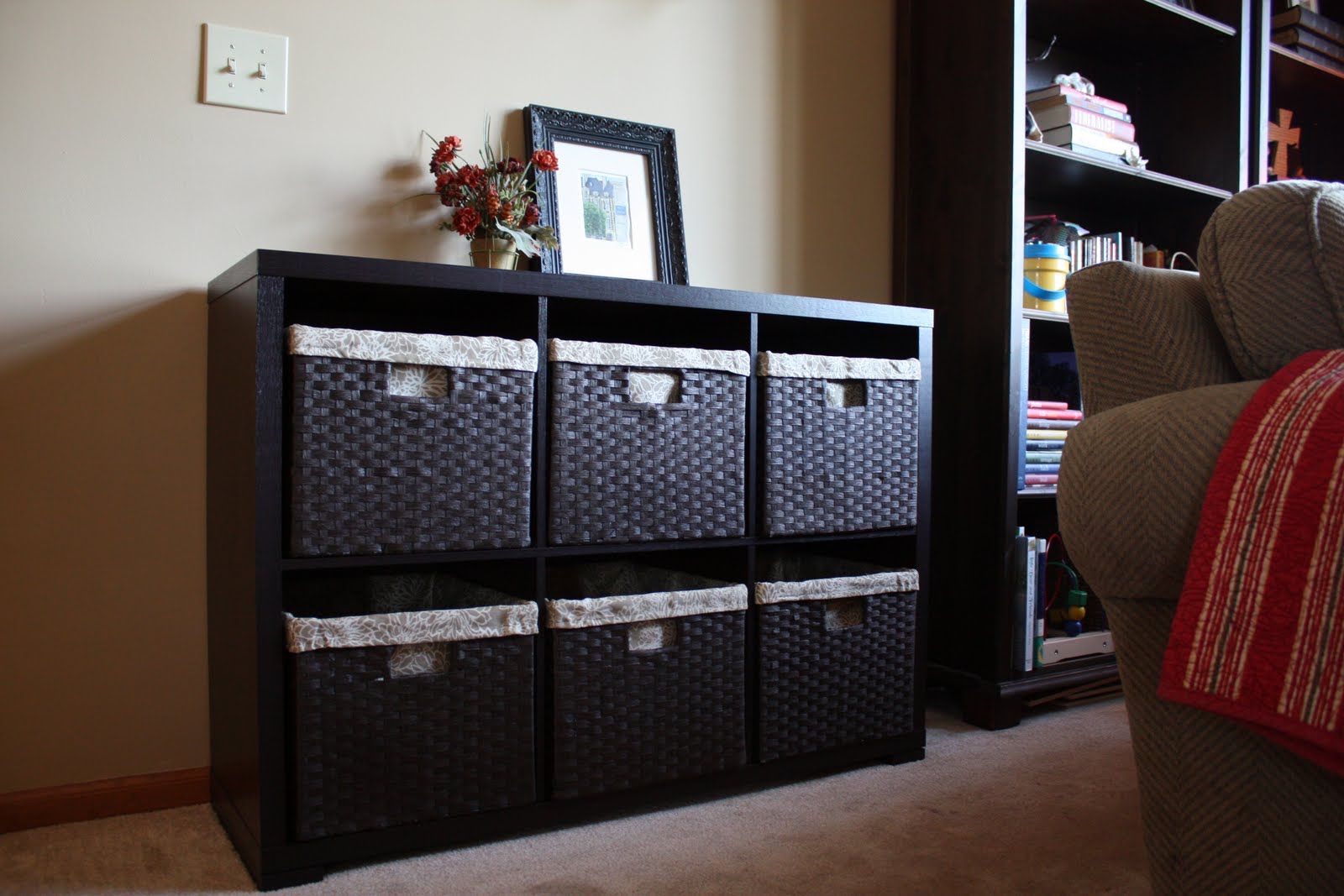 Innocents abroad target toy storage - Ideas for storing toys in living room ...