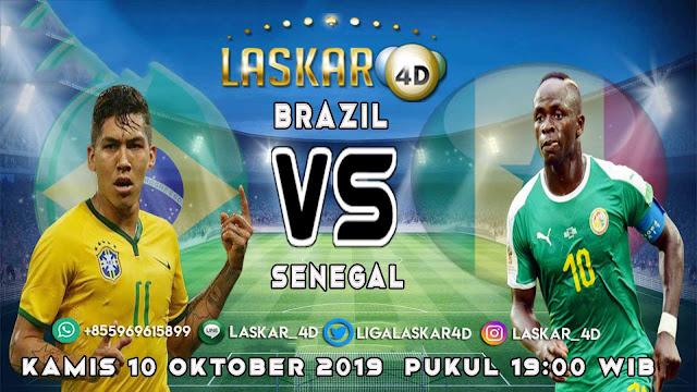 Prediksi Pertandingan Bola Brazil vs Senegal 10 Oktober 2019