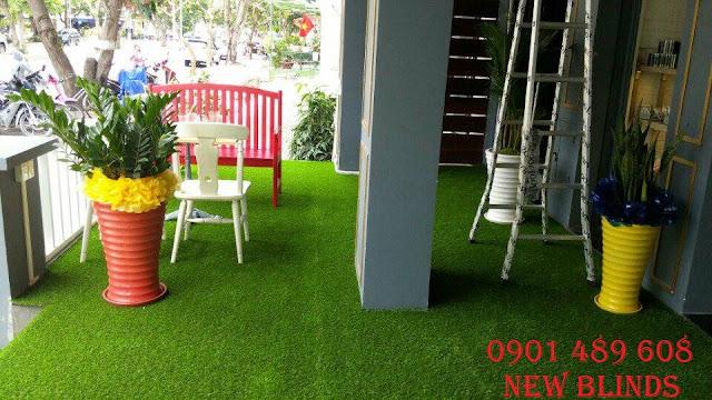 cỏ nhân tạo cho nhà hàng