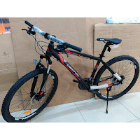 Sepeda Gunung United Detroit 1.00 Aloi 24 Speed Cakram Mekanis 27,5 Inci