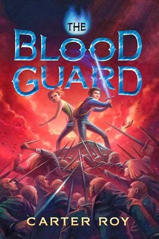 The Blood Guard book review and giveaway