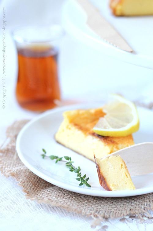 tureckie ciasto jogurtowo-cytrynowe które smakuje jak sernik