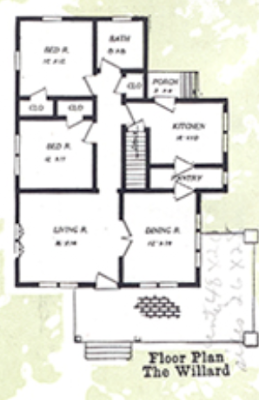 aladdin willard 1919 floor plan