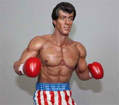 "Rocky 1/4 Scale Statue de ""Rocky IV"" - Hollywood Collectibles Group"