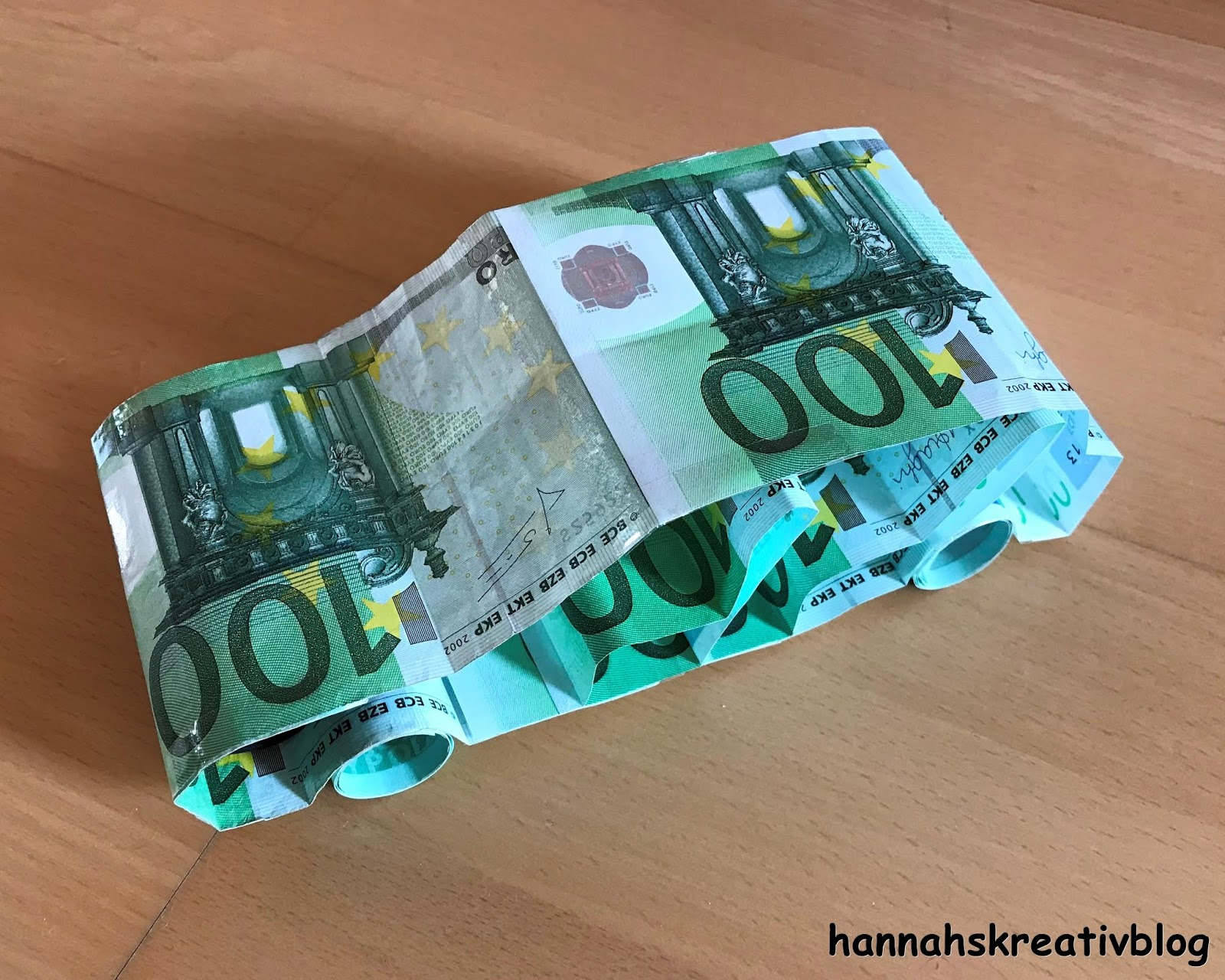 Hannahs Kreativblog Geldgeschenk Auto Fur Fuhrerschein