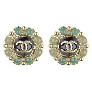 Authentic CHANEL Earrings Not Replica Jewelry