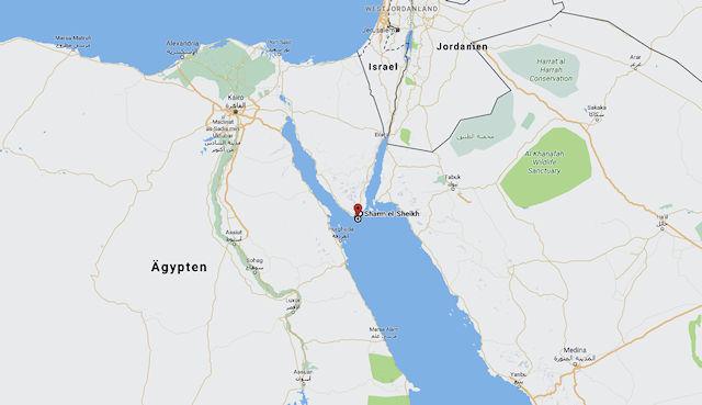 Sharm el Sheikh Karte (C) Google