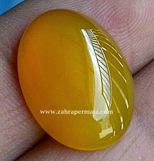 Batu Permata Yellow Chalcedony - ZP 303