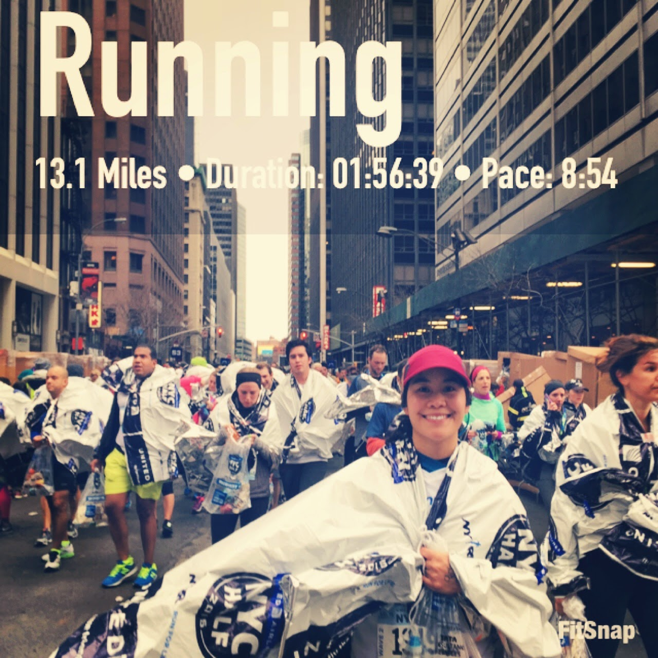 2015 NYC Half Marathon Finish