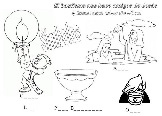 La Catequesis (El blog de Sandra): Recursos Catequesis Bautismo de Jesús