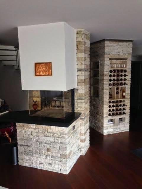 Un pilastro da elemento strutturale ad elemento di arredo for Progettare un salone